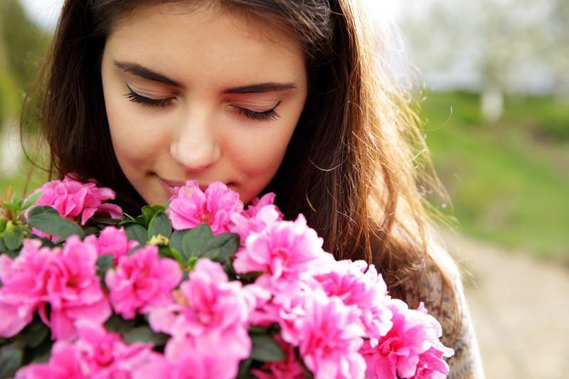 Floral para a timidez